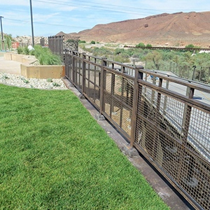 Lake Mead Fence Staining Solution by Natina Products