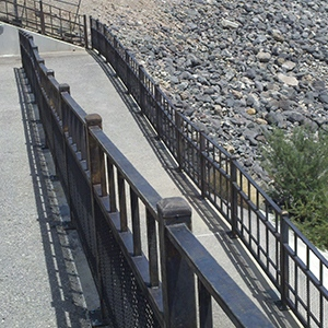 Pittman Wash Steel Barrier Natural Staining