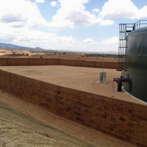 Prescott Reservoir Construction by Natina Products