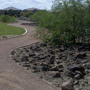 Reunion Trails Landscape Staining by Natina Products