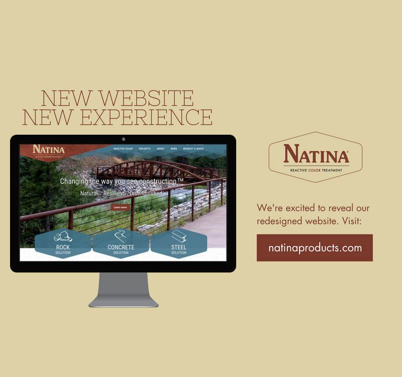Natina New Web Design Announcement