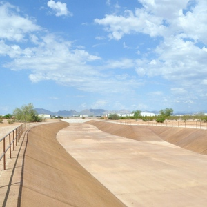 Maricopa Channel Concrete Staining by Natina
