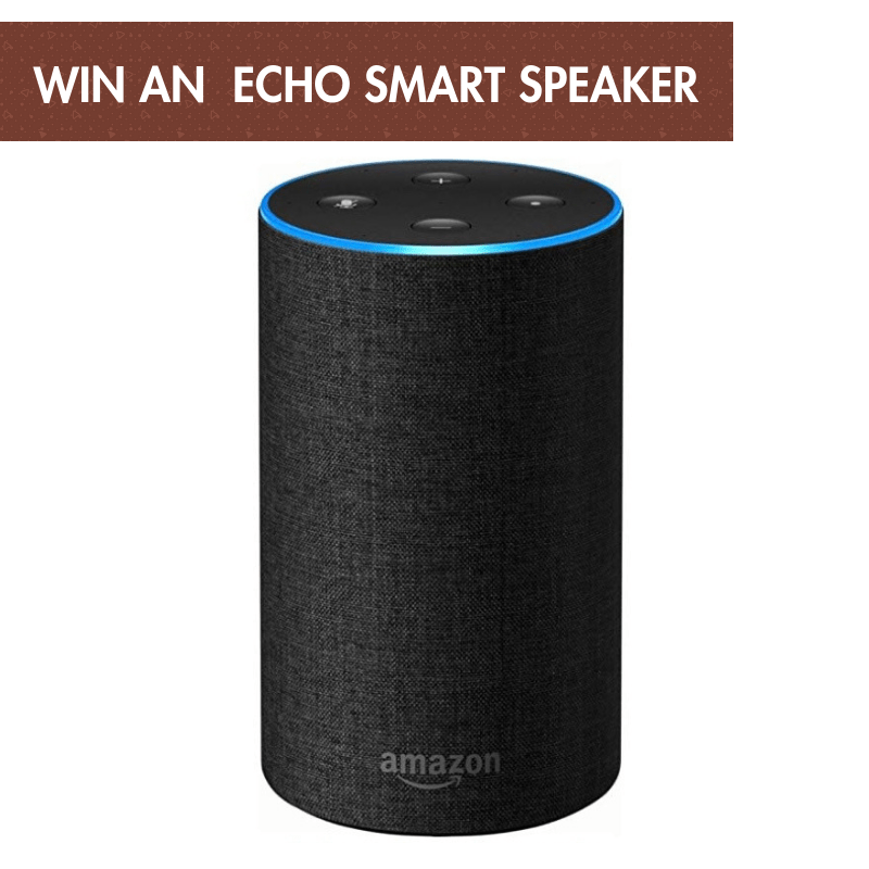 Win an Echo Smart Speaker with Natina