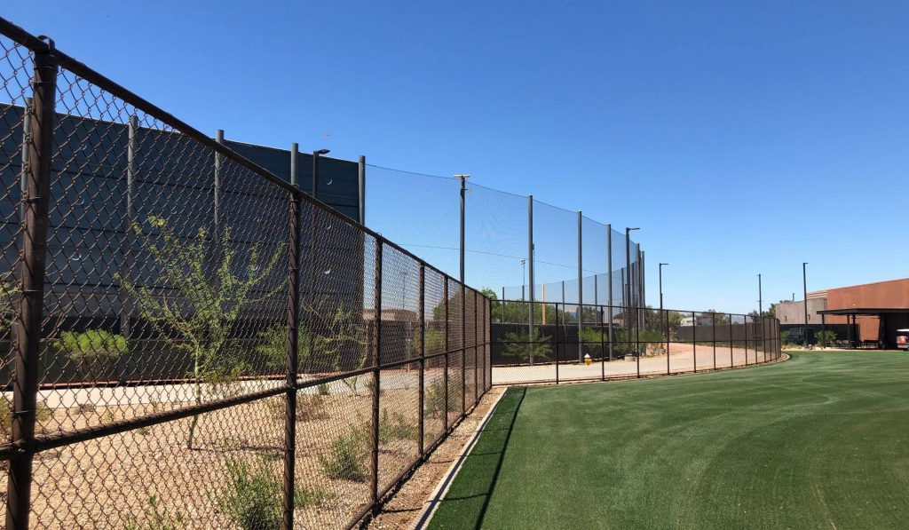 Milwaukee Brewers_Spring Training_Chain Link Fence