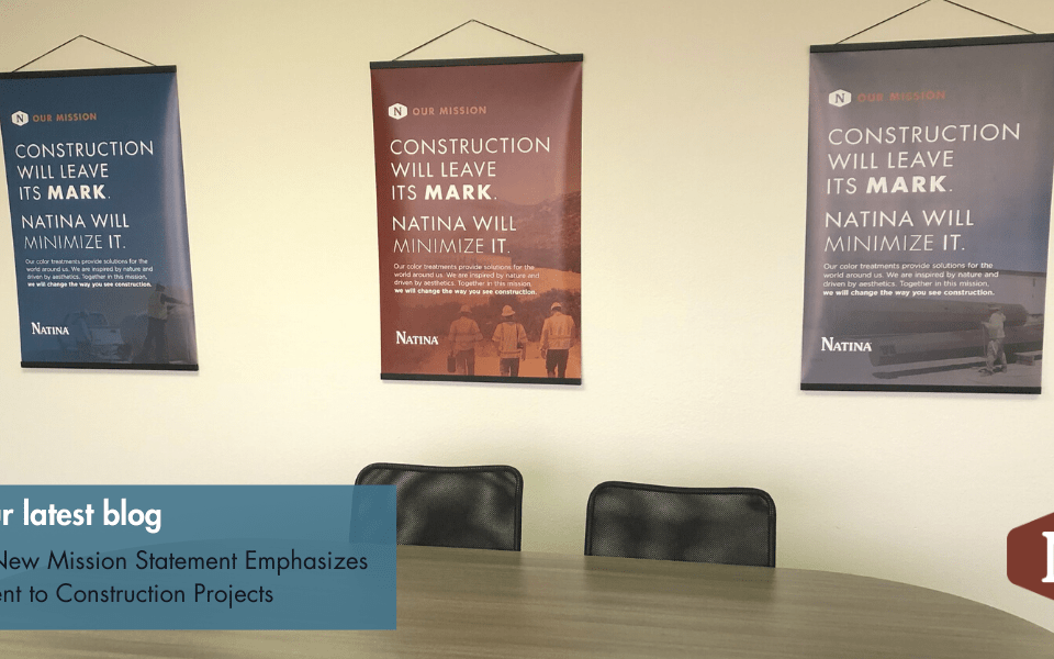 Natina's New Mission Statement Emphasizes Commitment to Construction Projects