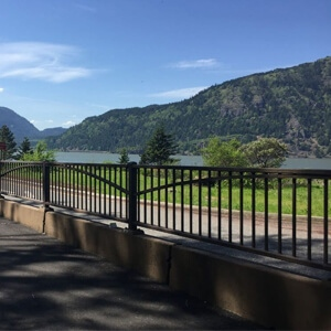 Pedestrian Railings Natina Stain Solutions
